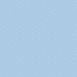 retro icons  dots icy pole white on gingham blue