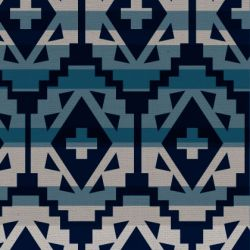 tribal aztec denim