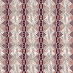 the natural jungle spicy textile plum tones