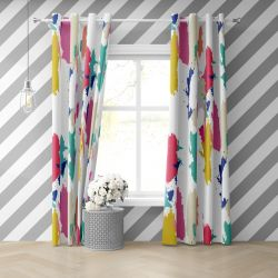 abstract modern concept curtain