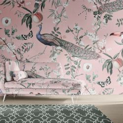 jungle chic concept wallpaper upholstery