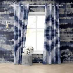 indigo embelishments concept curatin wallpaper