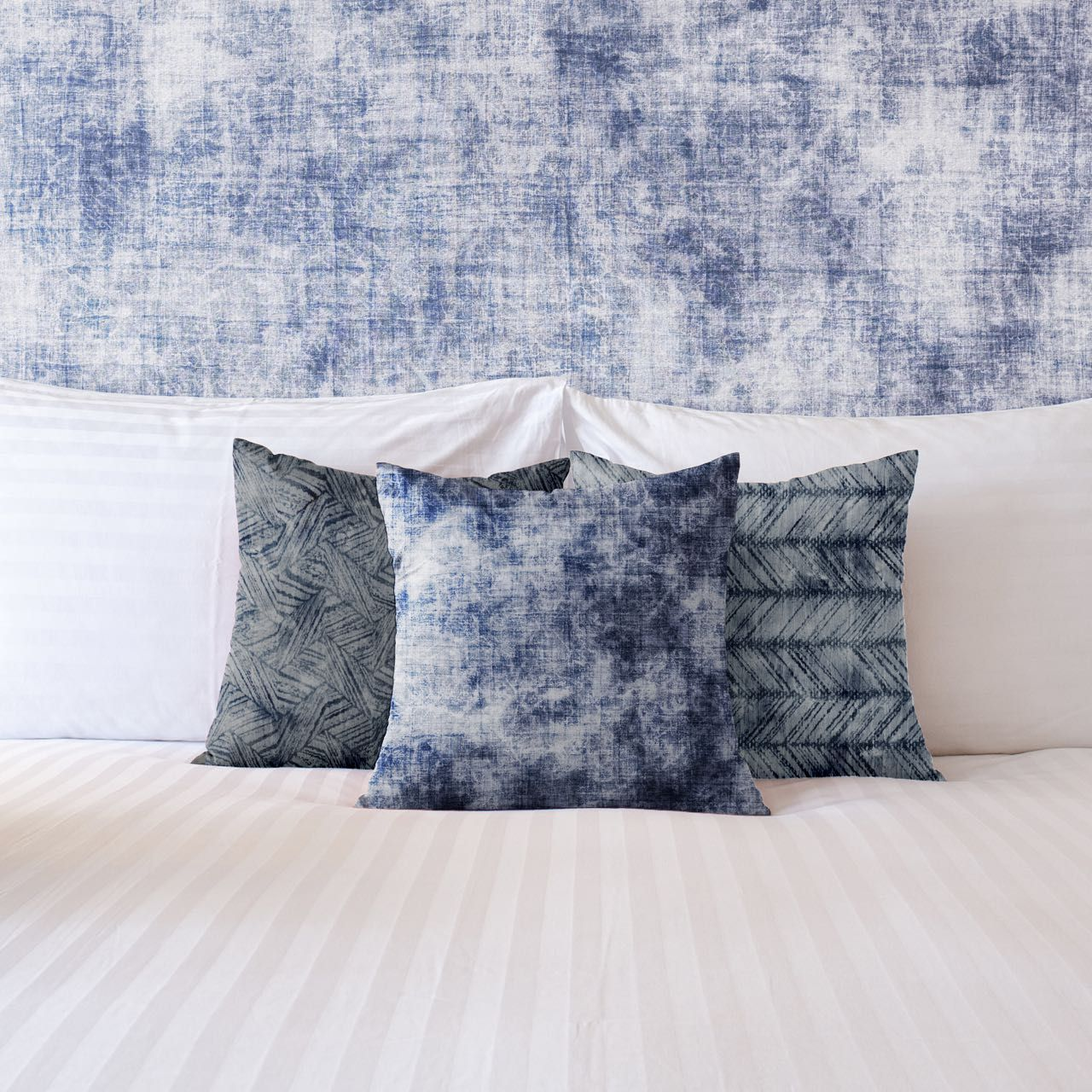 indigo embelishments concept cushion upholstery wallpaper