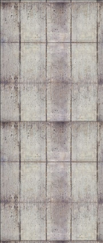 rain crete single panel 127cm wide x 300cm high