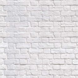 white brick left panel a of b 127cm wide x 300cm high