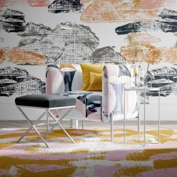 artisanal concept rug upholstery and wallpaper