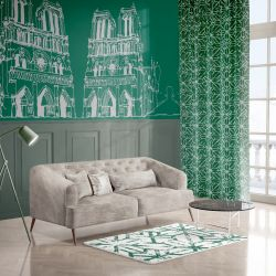 city lines concept wallpaper and upholstery