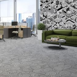 colour in concept carpet and wallpaper