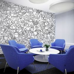 colour in concept wallpaper and carpet