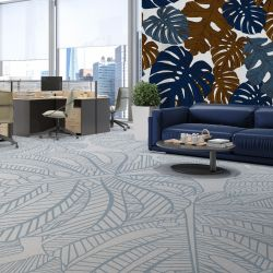 fronds concept carpet and wallpaper