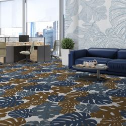 fronds silhouette concept carpet and wallpaper 2