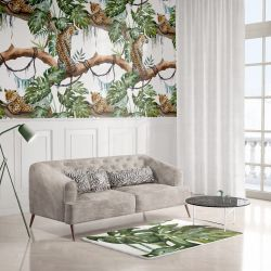 jungle fever concept wallpaper carpet and upholstery