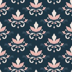 blooming impressions leaf damask