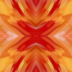 brushstroke orange strokes