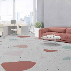 terrazzo concept office carpet large and upholstery