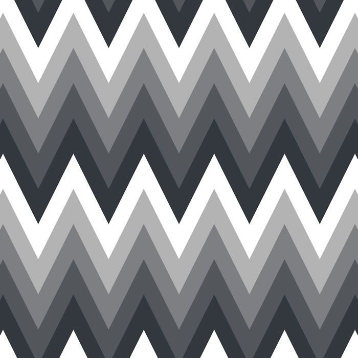 oversized chevron belle coal