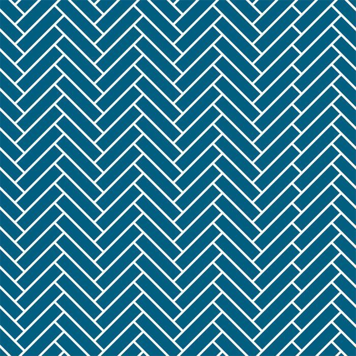 back to basics herringbone powderblue white