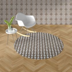 notions concept rug and wallpaper