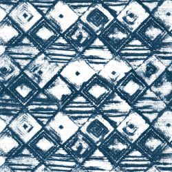 indian block prints maya indigo
