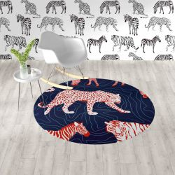 jungle fever concept rug and wallpaper7