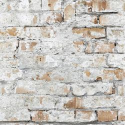 brick cracked wall
