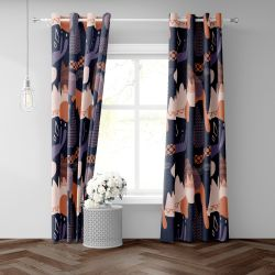 life in patterns concept curtain