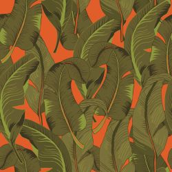 tropical banana jungle orange standard