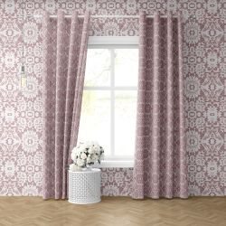 lace concept curtain wallpaper