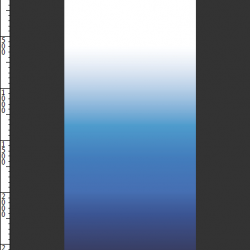 ombre blue panel 2800mmhigh x 12700mmwide