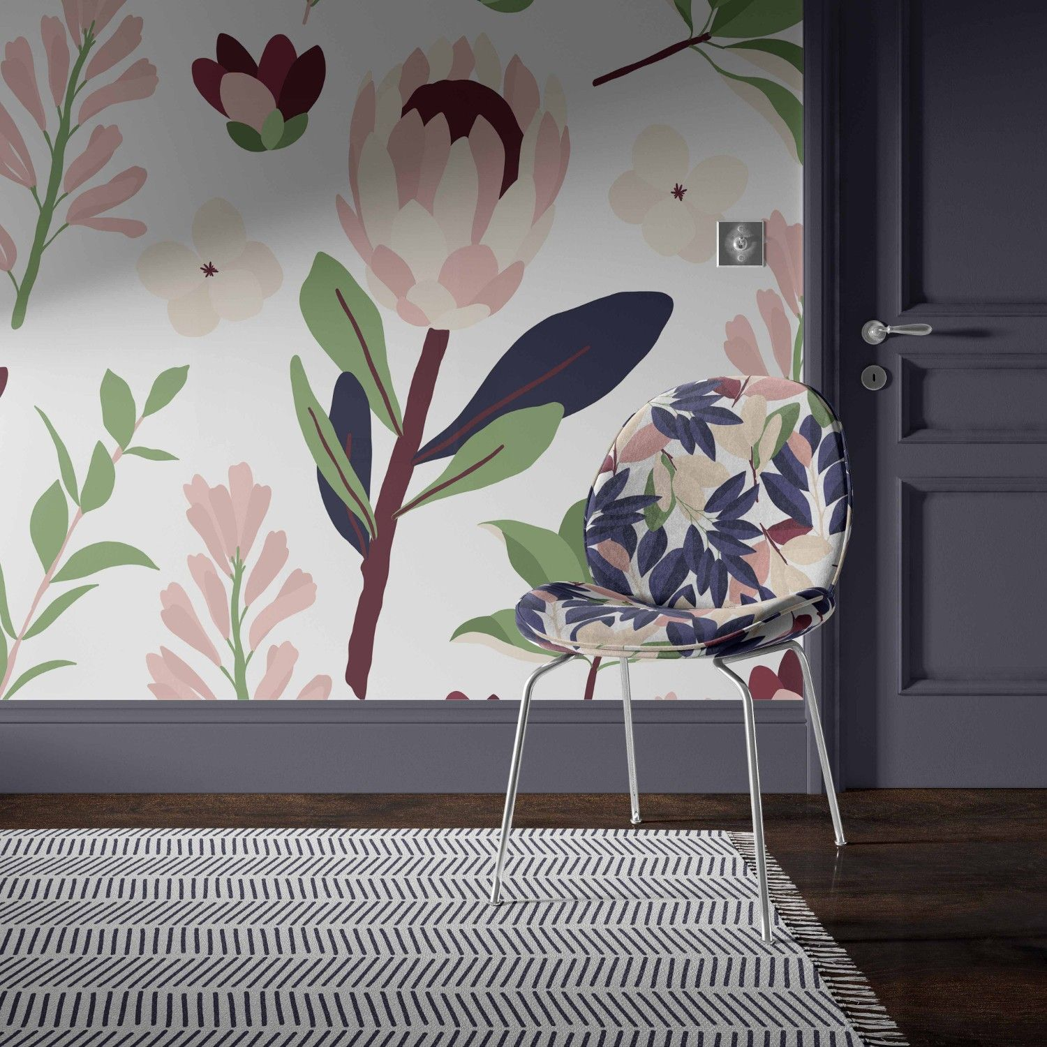 cotswold manor concept wallpaper rug upholstery