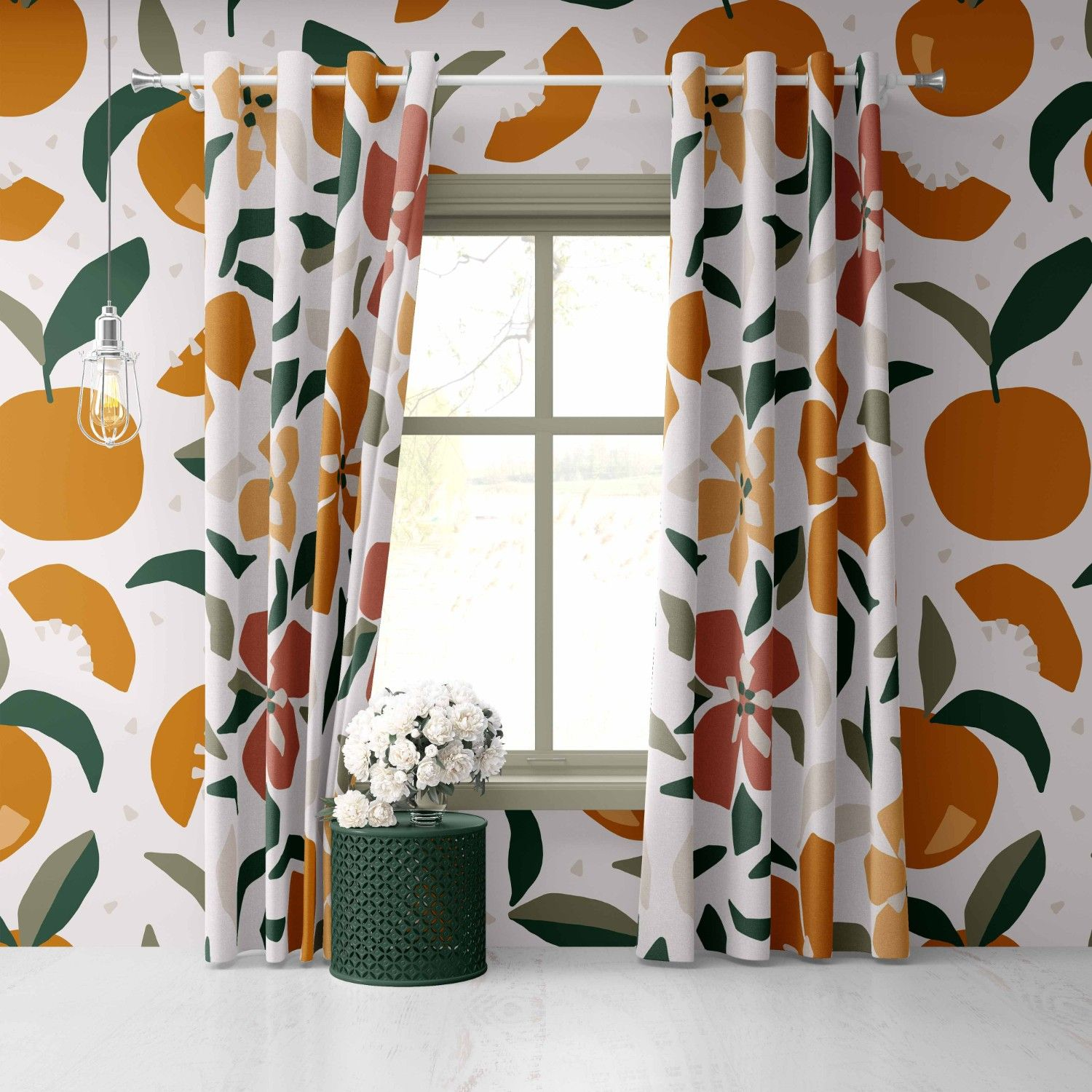 mediteranean notions concept wallpaper curtain