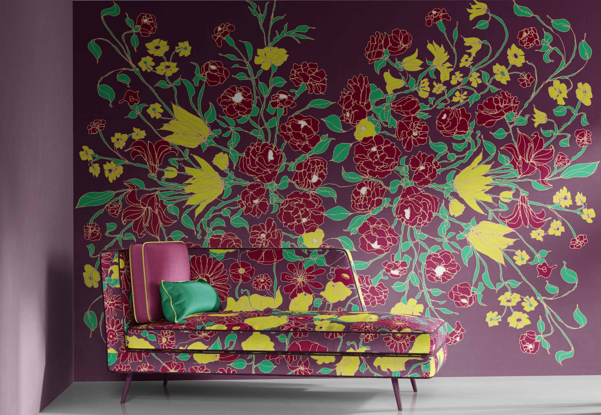 antheia concept wallpaper upholstery