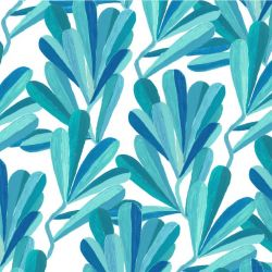 coastal banksia leaves aqua