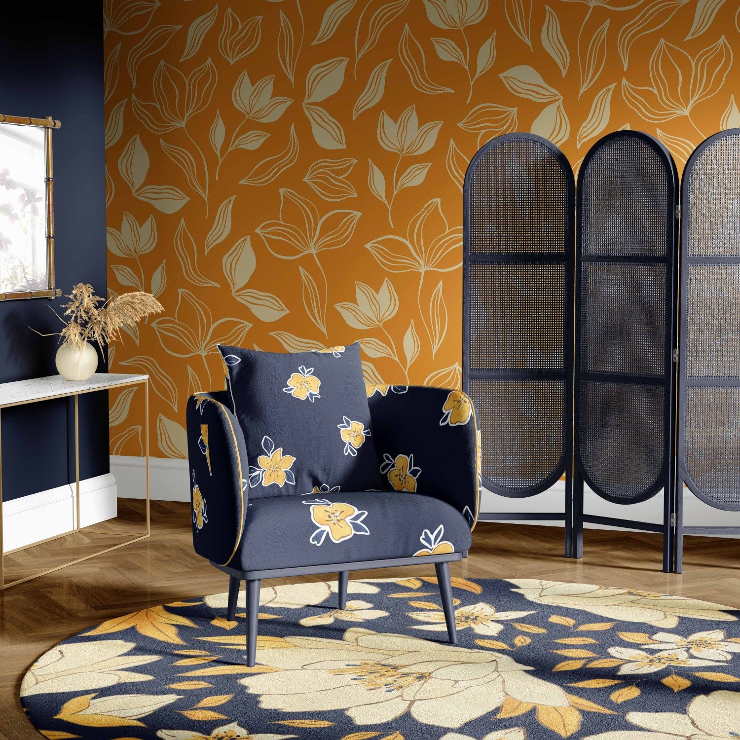 provence concept wallpaper rug upholstery