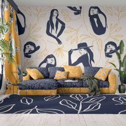 provence concept wallpaper upholstery rug curtain