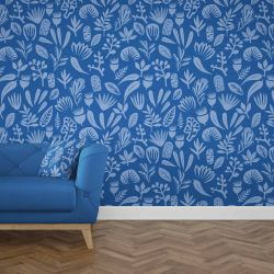 coastal concept wallpaper cushion