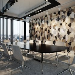 antheia concept office wallpaper