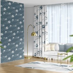 kyoto zen concept wallpaper curtain rug