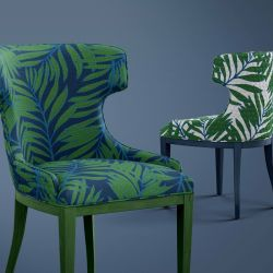tropical concept upholstery