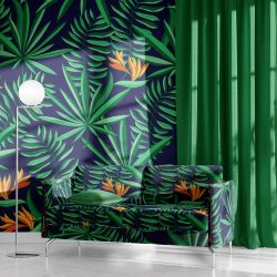 tropical concept wallpaper upholstery