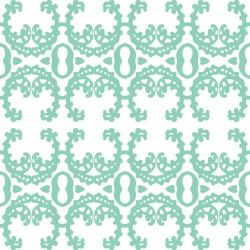 curatedmemory lockets   lace mint green