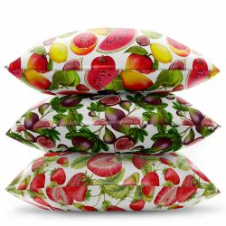 fruit veg concept cushion stack