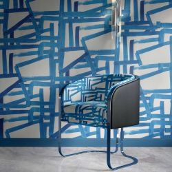 modern abstract concept upholstery wallpaper
