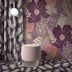 the natural jungle concept wallpaper curtain carpet