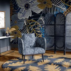 the natural jungle concept wallpaper rug upholstery