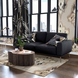 the natural jungle concept wallpaper upholstery rug