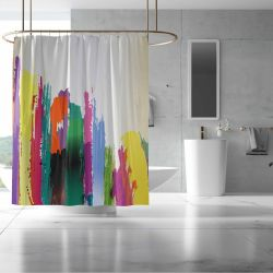 urban graphics concept shower curtain