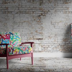 brick walls concept cracked wall wallpaper carpet