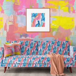 modern abstract concept wallpaper upholstery artwork