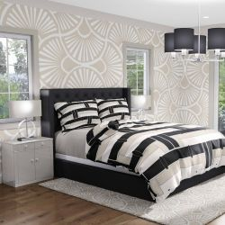 oriental collective concept bedroom upholstery wallpaper